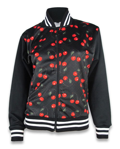 Liquor Brand Cherry Jacket Black