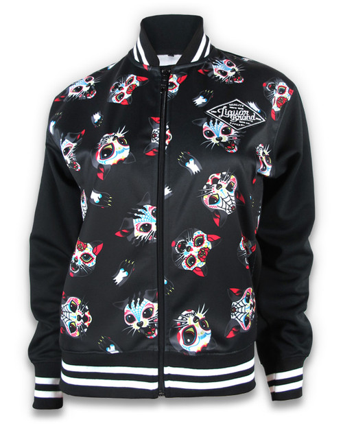 Liquor Brand Cats Jacket Black