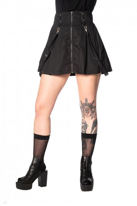 Banned Bondage Strap Skirt