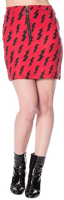 Banned Thunderbolt Skirt
