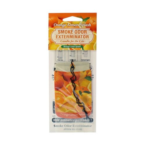 Smoke Odor Exterminator Car Freshner Orange Lemon Splash