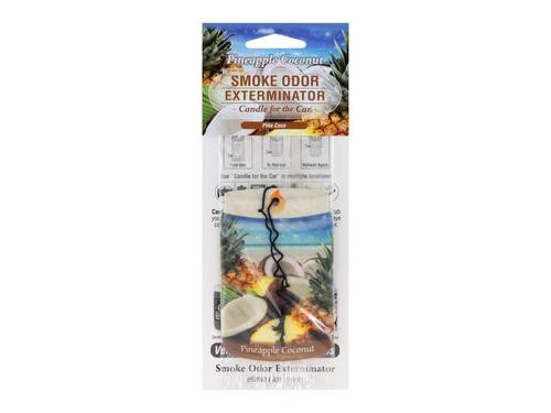 Smoke Odor Exterminator Car Freshner Pineapple Coconut