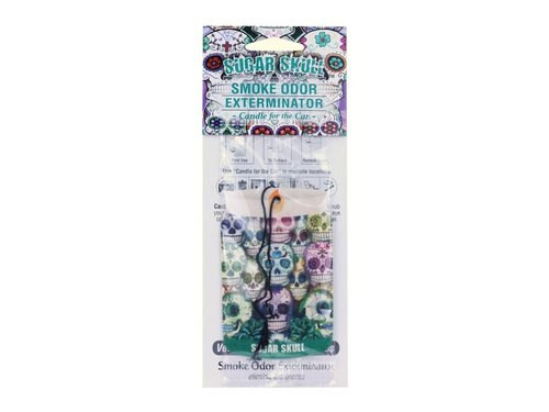 Smoke Odor Exterminator Car Freshner Sugar Skull