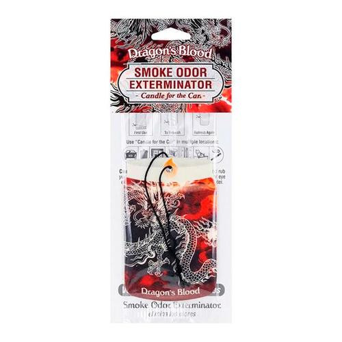 Smoke Odor Exterminator Car Freshner Dragon's Blood