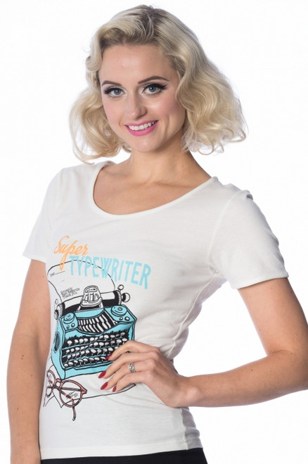 Banned Typist T-Shirt  TP-1331