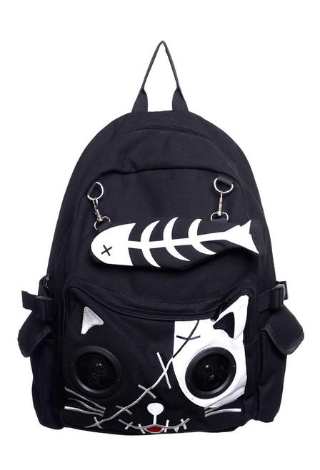 Banned Kitty Speaker Backpack  BBN-728