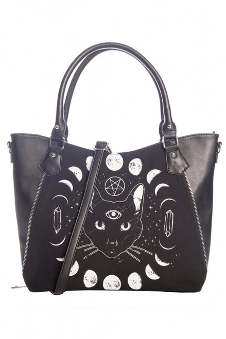 Banned Pentacle Coven Tote Bag