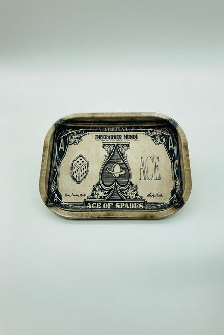 Ace of Spades Rolling Tray