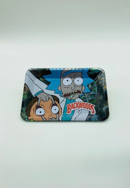 Rick and Morty BW Rolling Tray