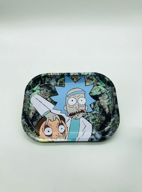 Rick and Morty Open Your Eyes Morty Rolling Tray
