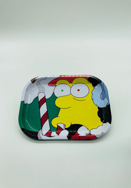 Stoned Otto, The Simpsons Bus Driver Rolling Tray  RT-023