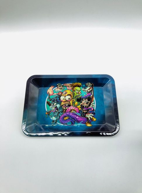 Angry Cartoon Rolling Tray
