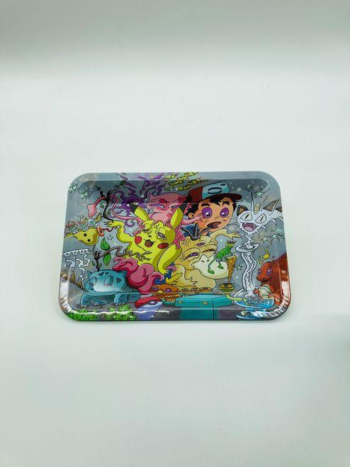 Stoned Pokemon Rolling Tray