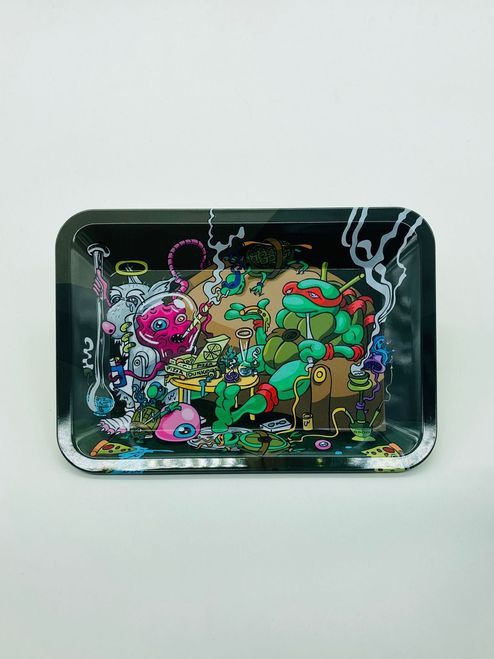 Stoned TMNT Rolling Tray