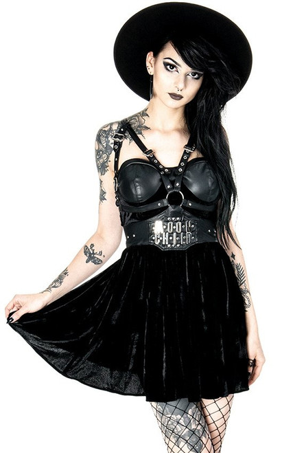Restyle Moon Child Harness Dress  RST-DRS-MOONCHILD