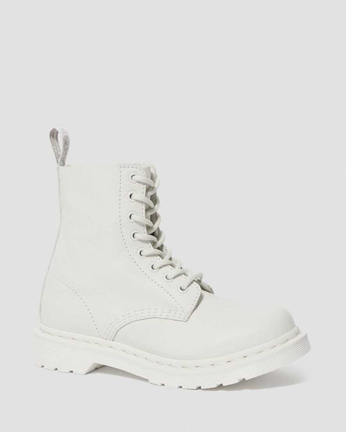 Dr. Martens 1469 Pascal Mono Optical White Virginia  DR-24480100