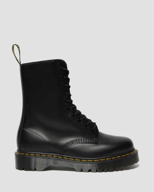 Dr Martens 1490 BEX Black Smooth Mid Calf  DR-26202001