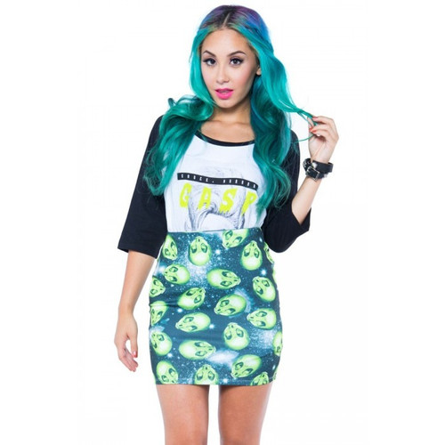 Area 51 Mini Skirt IFL-SKT-031