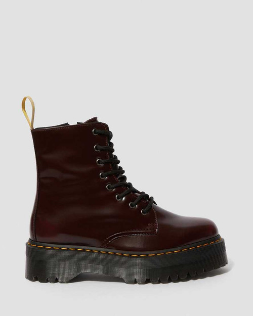 Dr. Martens V Jadon II Cherry Red Oxford Rub Off  DR-22563600