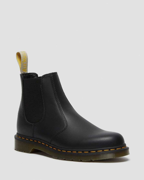 Dr. Martens Vegan 2976 Black Felix Rub Off  DR-21456001