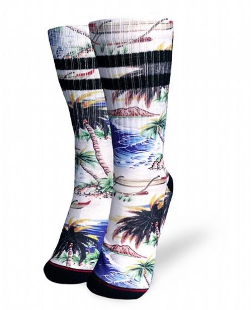 Liquor Brand Tahiti Socks  LB-ASO-19009-NCL