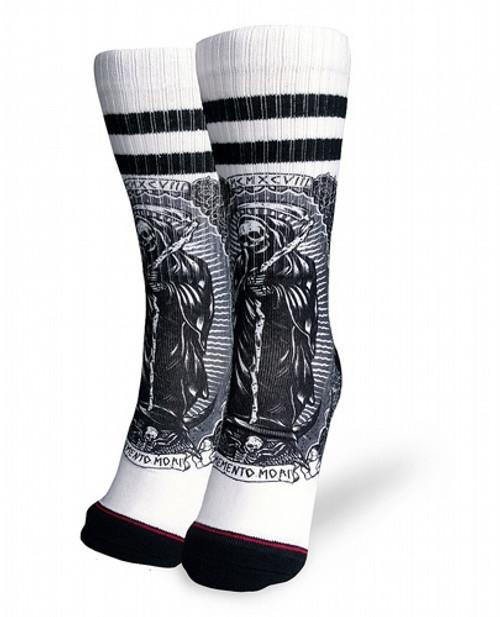 Liquor Brand Santa Muerte Socks  LB-ASO-19021-NCL