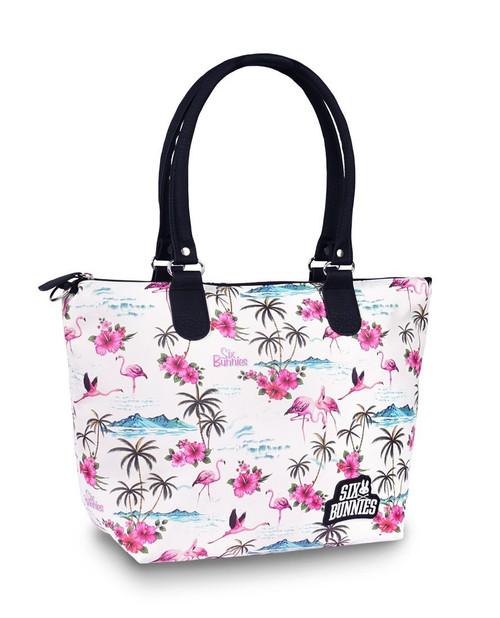 Six Bunnies Flamingos Diaper Bag  SB-ABDX-19003-NCL