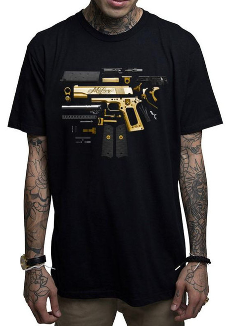 Mafioso Assembly Black T-Shirt MAF-ASS-BLK