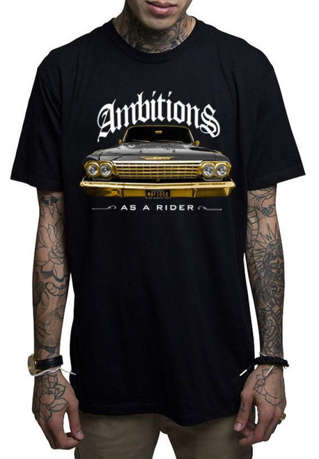 Mafioso Ambitions Black T-Shirt