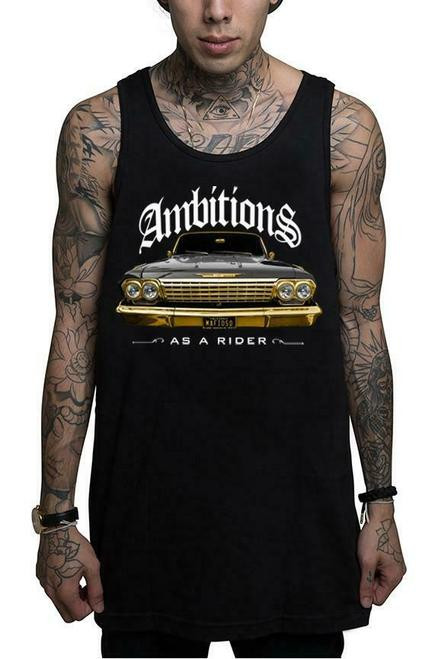 Mafioso Ambitions Black Tank Top