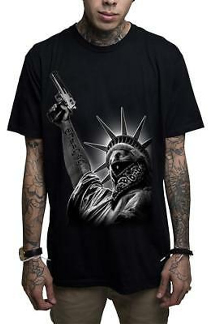 Mafioso Stick Up Black T-Shirt