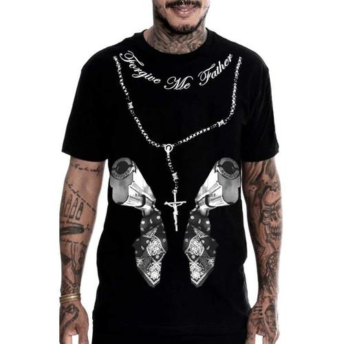 Mafioso Confessions Black T-Shirt
