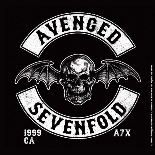 Crête de la chauve-souris de la mort du Sevenfold Single Cork Coaster  (AS-COAS-02)