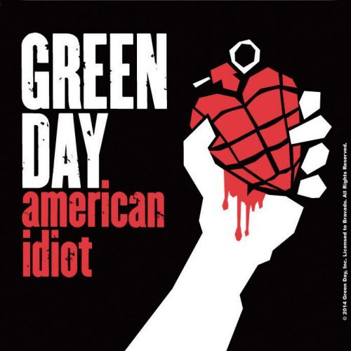 Green Day American Idiot Single Cork Coaster