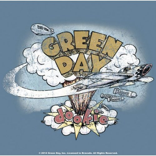 Green Day Dookie Single Cork Coaster