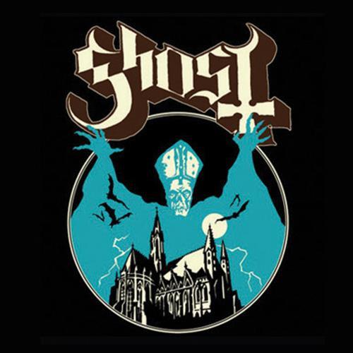 Ghost Single Cork Coaster Opus