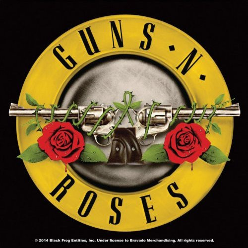 Guns N' Roses Single Cork Coaster Bullet
