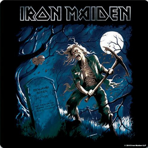 Iron Maiden Single Cork Coaster Benjamin Breeg
