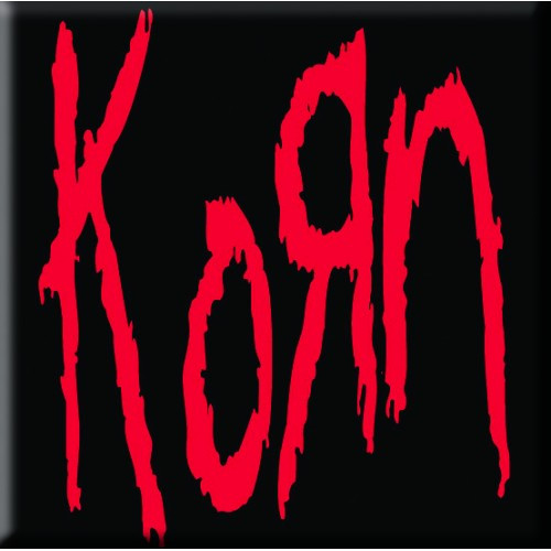 Korn Single Cork Coaster Logo