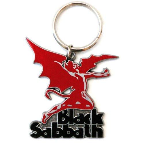 Black Sabbath Daemon Keychain (Enamel In-Fill)  BS-KY-02