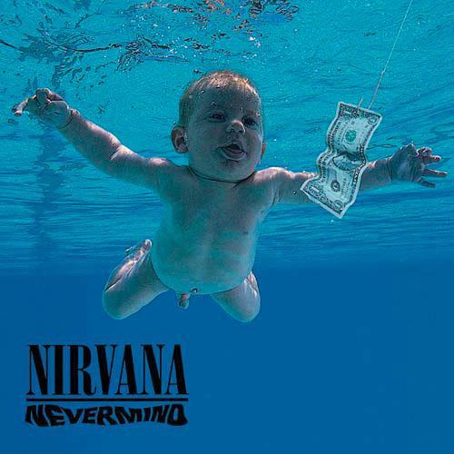 Nirvana Sous-verre à bouchon unique Never Mind