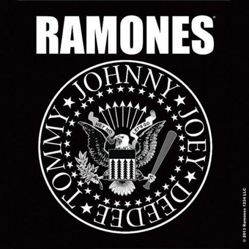 Le président Ramones a scellé un sous-verre en liège