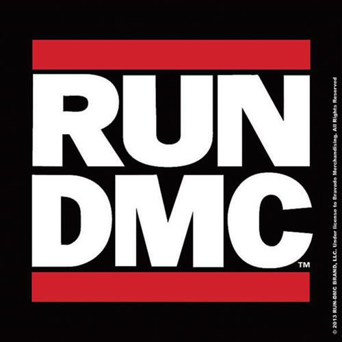 RUN DMC Logo Single Cork Coaster