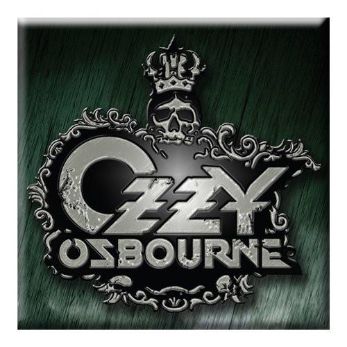 Ozzy Osbourne Crest Logo Fridge Magnet  OZZ-MAG-01