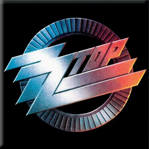 ZZ Top Circle Fridge Magnet  ZZ-MAG-01