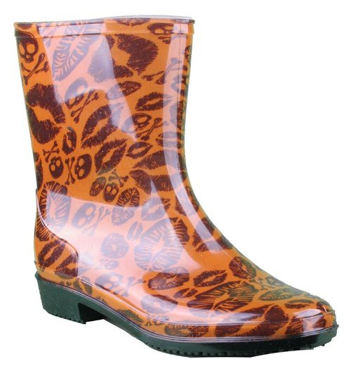 Iron Fist Lady Kiss Of Death Cropped Rainboot