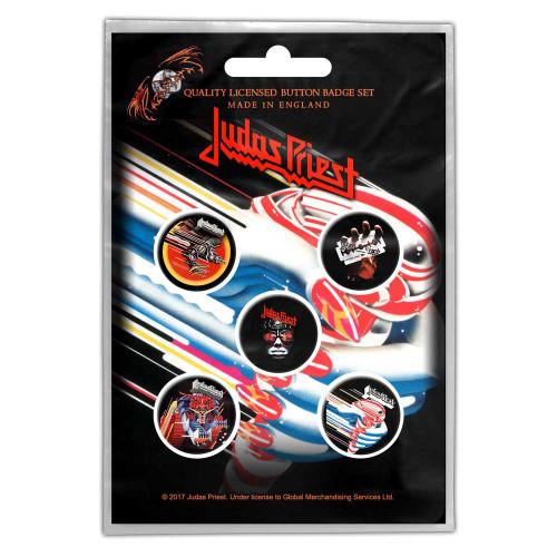 Pack d'insignes de Judas Priest Turbo
