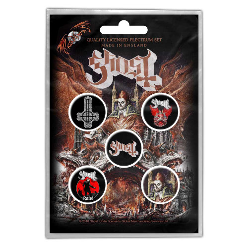Ghost Prequelle Button Badge Pack