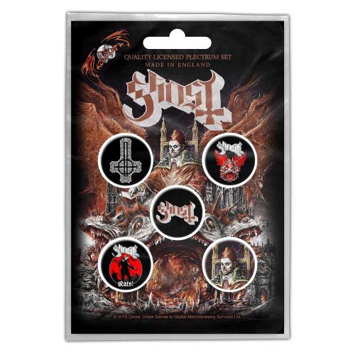 Pack de badges à boutons Ghost Prequelle