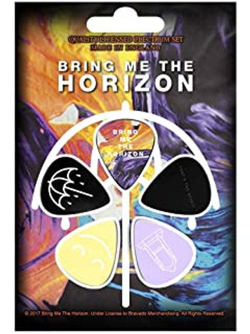 Bring Me The Horizon Plectrum Pack  PP-BMTH